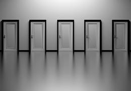 verschillende deuren